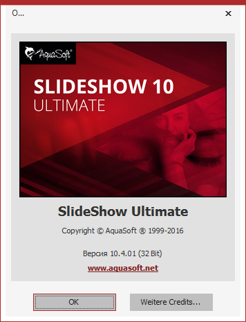 AquaSoft SlideShow Ultimate 10.4.01