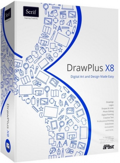 Serif DrawPlus X8 14.0.1.21 Portable