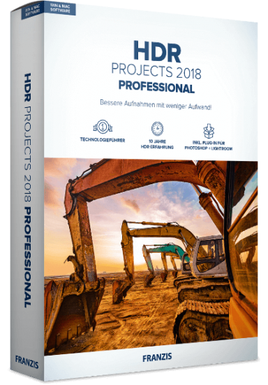 Franzis HDR projects 2018 Professional 6.64.02783 + Rus