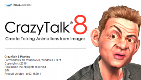 CrazyTalk Pipeline 8.13.3615.1 + Resource Pack + Bonus + Rus + Portable