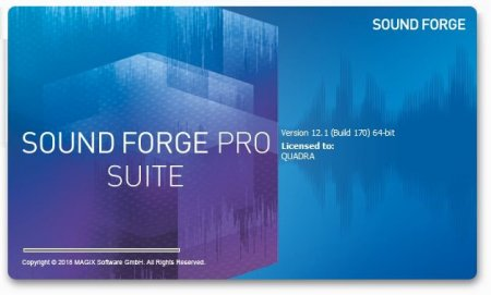 MAGIX SOUND FORGE Pro + Repack / Sony Sound Forge Pro