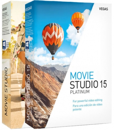 MAGIX VEGAS Movie Studio 15.0.0.146 + Platinum 15.0.0.157