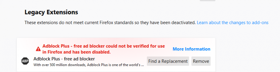 Firefox brauzerində global problem