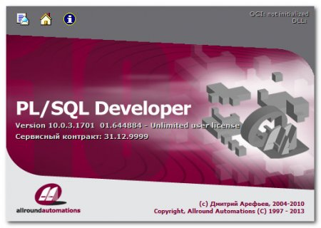 PL/SQL Developer 10.0.3.1701