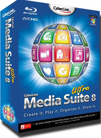 CyberLink Media Suite 8.00.1221 Ultra