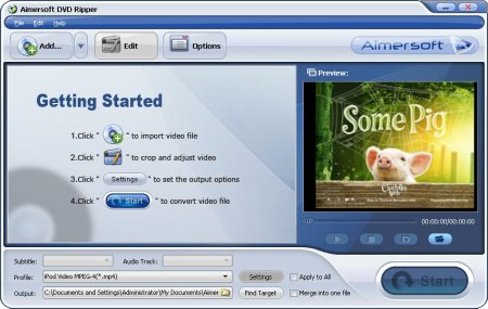 Aimersoft DVD Ripper 2.6.1