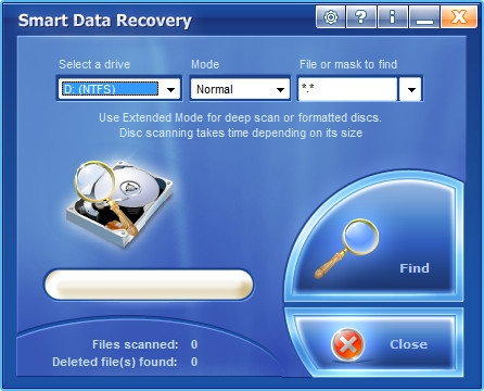 Smart Data Recovery 4.4 (06.09.2011)