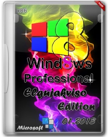 Windows 8 Pro VL x86 Elgujakviso Edition 01.2013
