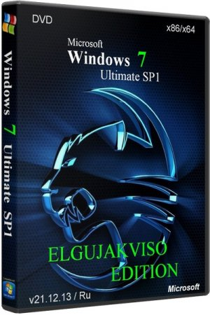 Windows 7 Ultimate SP1 x86/x64 Elgujakviso Edition 2013 Rus