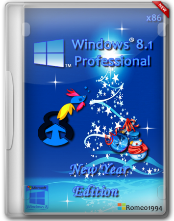 Windows 8.1 Professional x86 New Year Edition (2013) Rus
