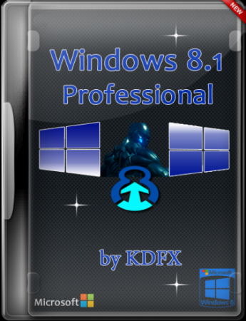 Microsoft Windows 8.1 Professional by KDFX (x64) (2014) RUS