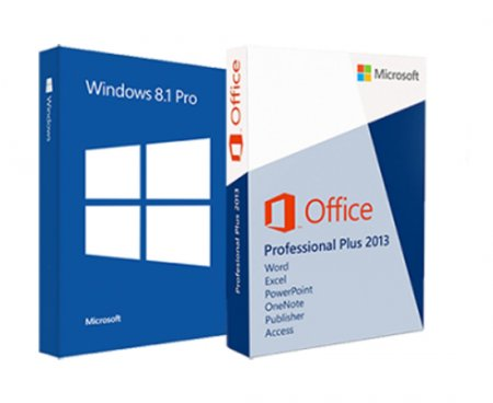 Windows 8.1 Pro with Media Center & Microsoft Office Pro Plus 2013 Final (x86/x64) (2014) [Rus/Eng]