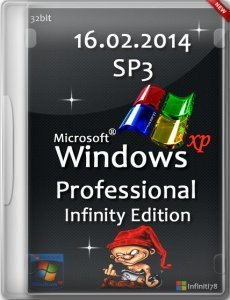 Windows XP Professional SP 3 (x86) Infinity Edition(16.02.2014)