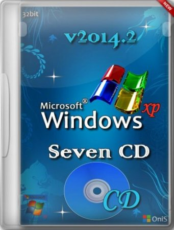 Windows XP Pro SP3 VLK Seven РЎD v2014.2 by OniS (2014) (RUS) [x86]