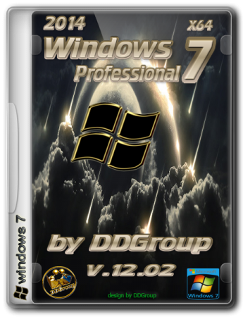 "Windows 7 Professional SP1 [v.12.02]by DDGroupв""ў (x64) (2014) RUS"