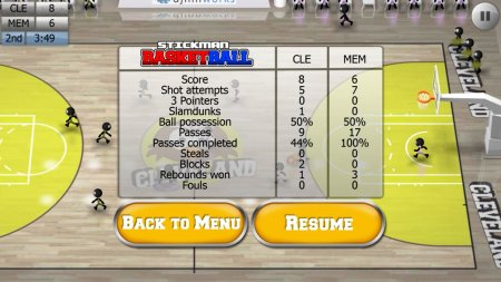 Stickman Basketball (Android)