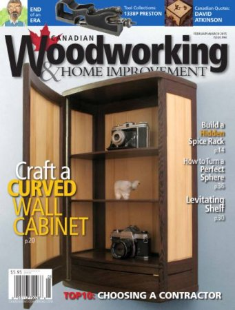 "Canadian Woodworking & Home Improvement в""–94 (February-March 2015)"