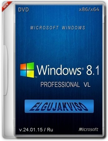 Windows 8.1 Professional by Elgujakviso Edition Rusca