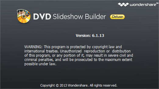 Wondershare DVD Slideshow Builder Deluxe 6.5.0.1
