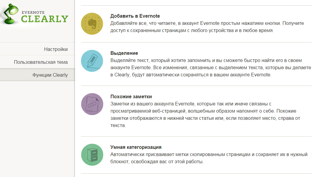 Evernote Clearly 10 6 1 8 Chrome + Opera / 10 2 1 7 1