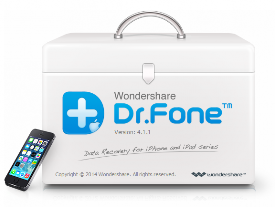 Wondershare Dr.Fone for iOS 6.5.2.1