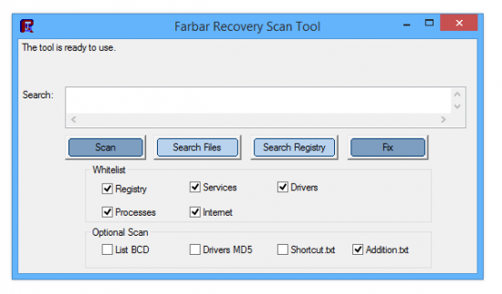 Farbar Recovery Scan Tool 07-11-2015 Final + x64 / FRST