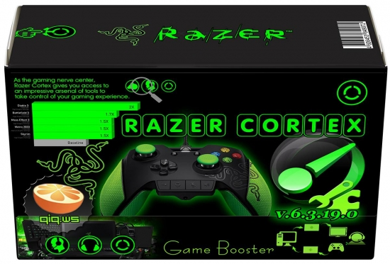Razer Cortex 6.3.19.0 Final / Game Booster / Iobit Game Booster