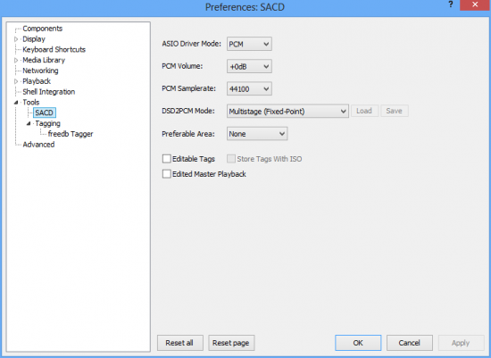 Super Audio CD Decoder 0.9.5