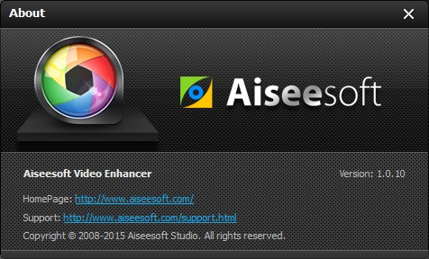 Aiseesoft Video Enhancer 1.0.10 beta