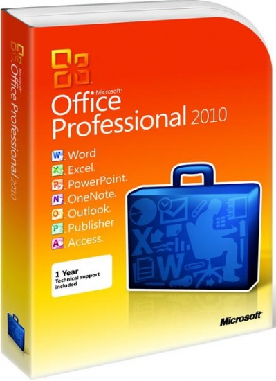 Microsoft Office 2010 SP2 Standard / Professional Plus + Visio Premium + Project Pro 14.0.7214.5000 (2018.10)