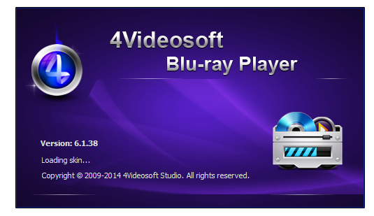 4Videosoft Blu-ray Player 6.1.82