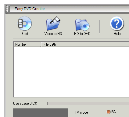 Easy DVD Creator v2.5.11