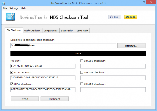 MD5 Checksum Tool 4.1 + Portable