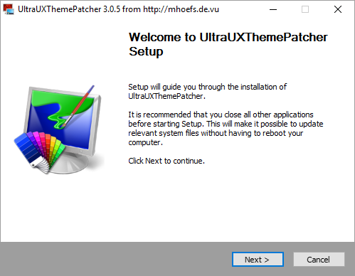 UltraUXThemePatcher 3.0.5
