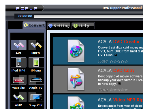 Acala DVD Ripper Professional 6.3.5.275