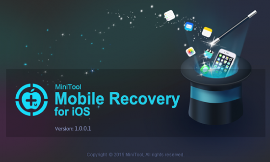 MiniTool Mobile Recovery for iOS 1.1.0.1 / 1.2.0.1 Free