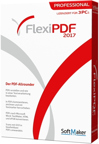 SoftMaker FlexiPDF 2017 Professional 1.01