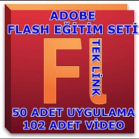 Adobe Flash Video Təhsil Seti 2013 Türkcə